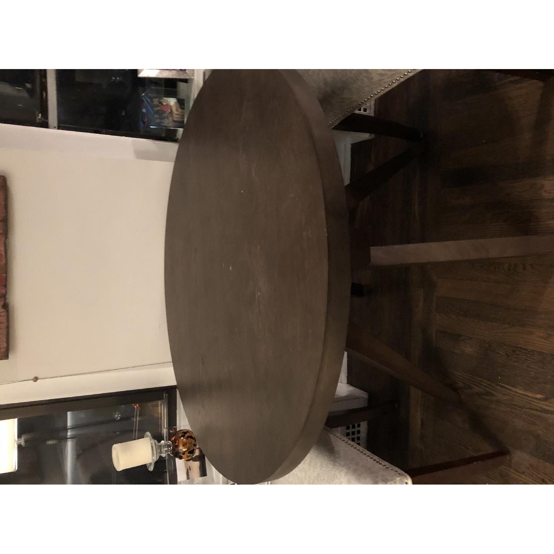 West Elm Arc Base Pedestal Dining Table-0