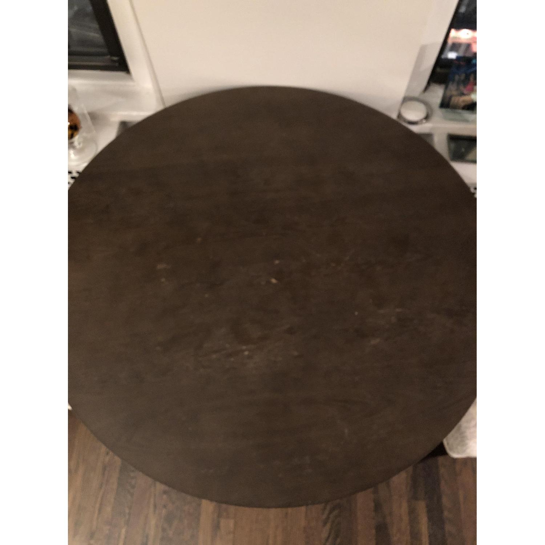 West Elm Arc Base Pedestal Dining Table-1