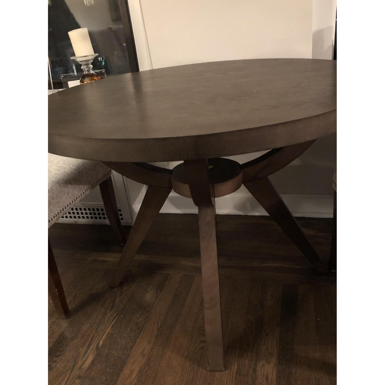 West Elm Arc Base Pedestal Dining Table-2