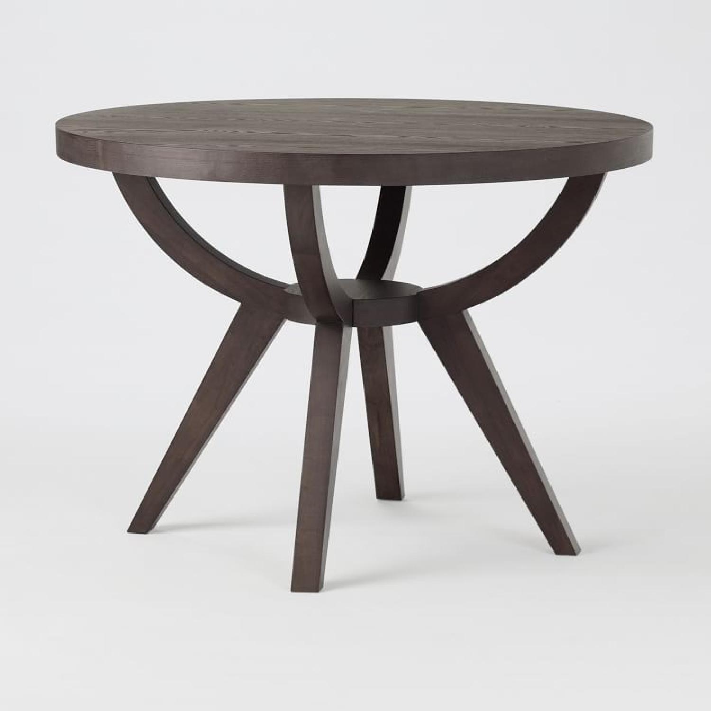 West Elm Arc Base Pedestal Dining Table-4