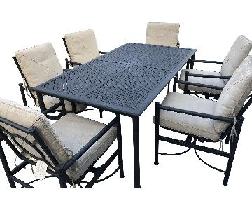 Hampton Bay 7-Piece Patio Dining Set