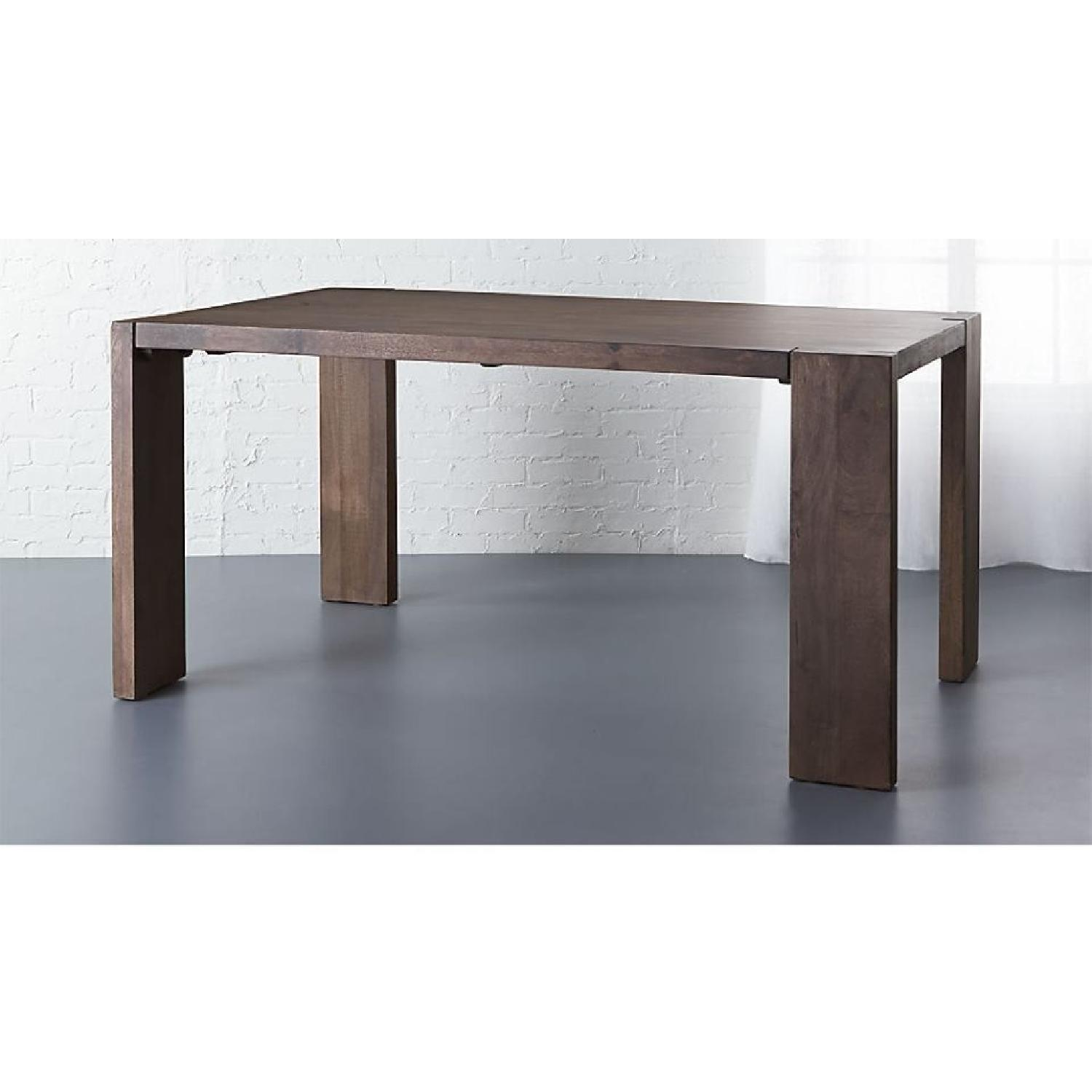 CB2 Blox Wood Dining Table