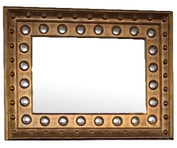 Z Gallerie Large Gold Brushed Mirror