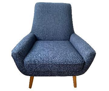 Joybird Armchair/Accent Chair in Blue