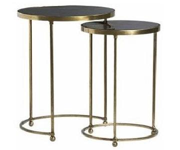Crate & Barrel Moreno Nesting Tables