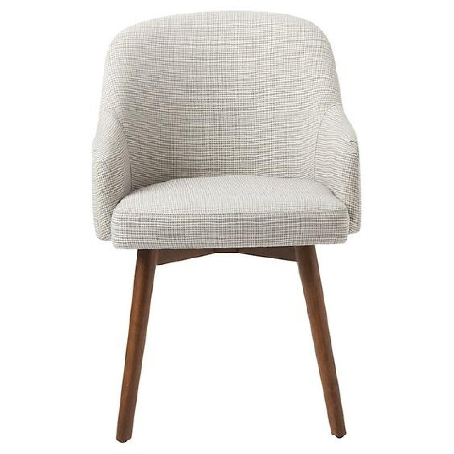West Elm Mid-Century Saddle Dining Chair