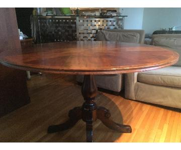 Theodore Alexander Round Pedestal Dining Table