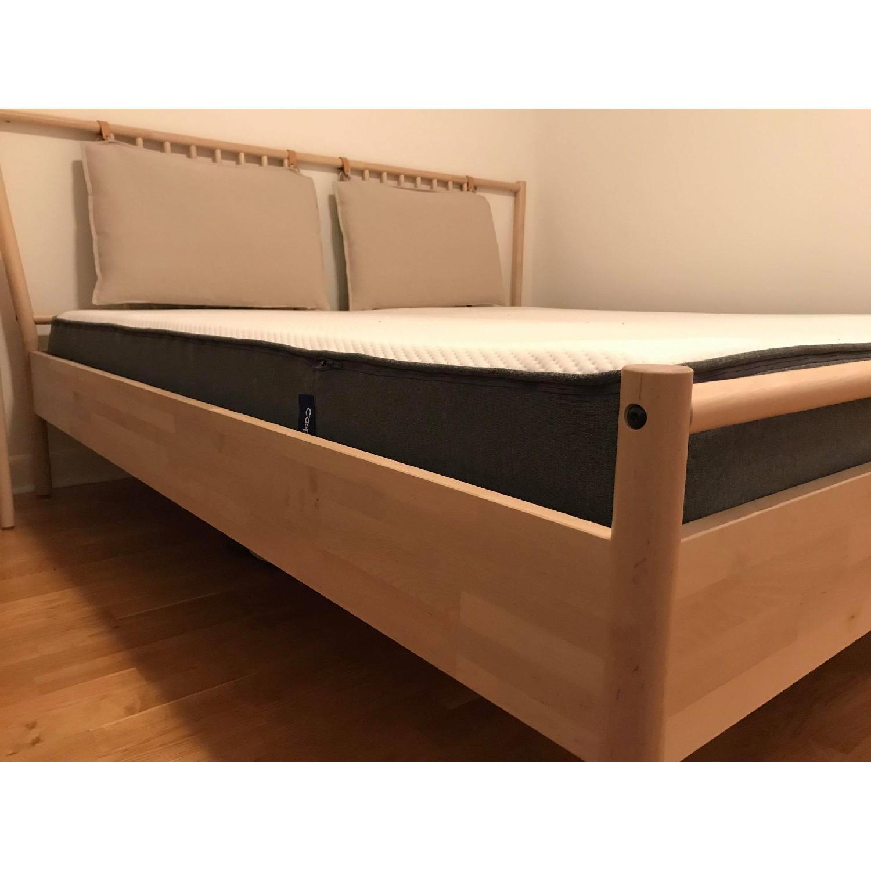 Ikea Bjorksnas Bed Frame in Birch w/ Lonset-0