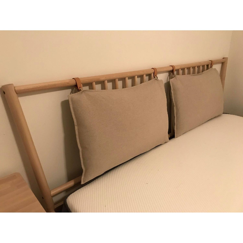 Ikea Bjorksnas Bed Frame in Birch w/ Lonset-1