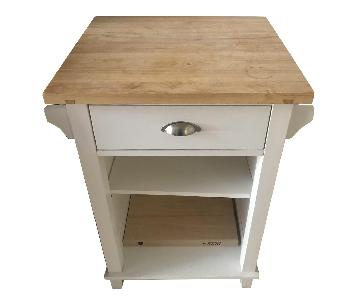Crate & Barrel Belmont Small Kitchen Island