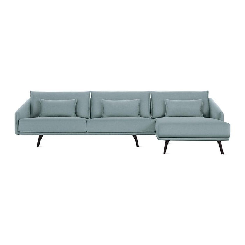 Design Within Reach Costura 2-Piece Sectional Sofa w/ - AptDeco