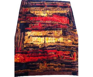 Rya Ryiji Modern Shag Wool Rug