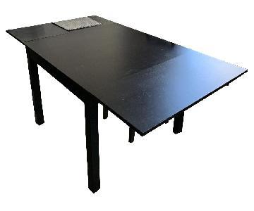 Ikea Bjursta Extendable 3-Piece Dining Set