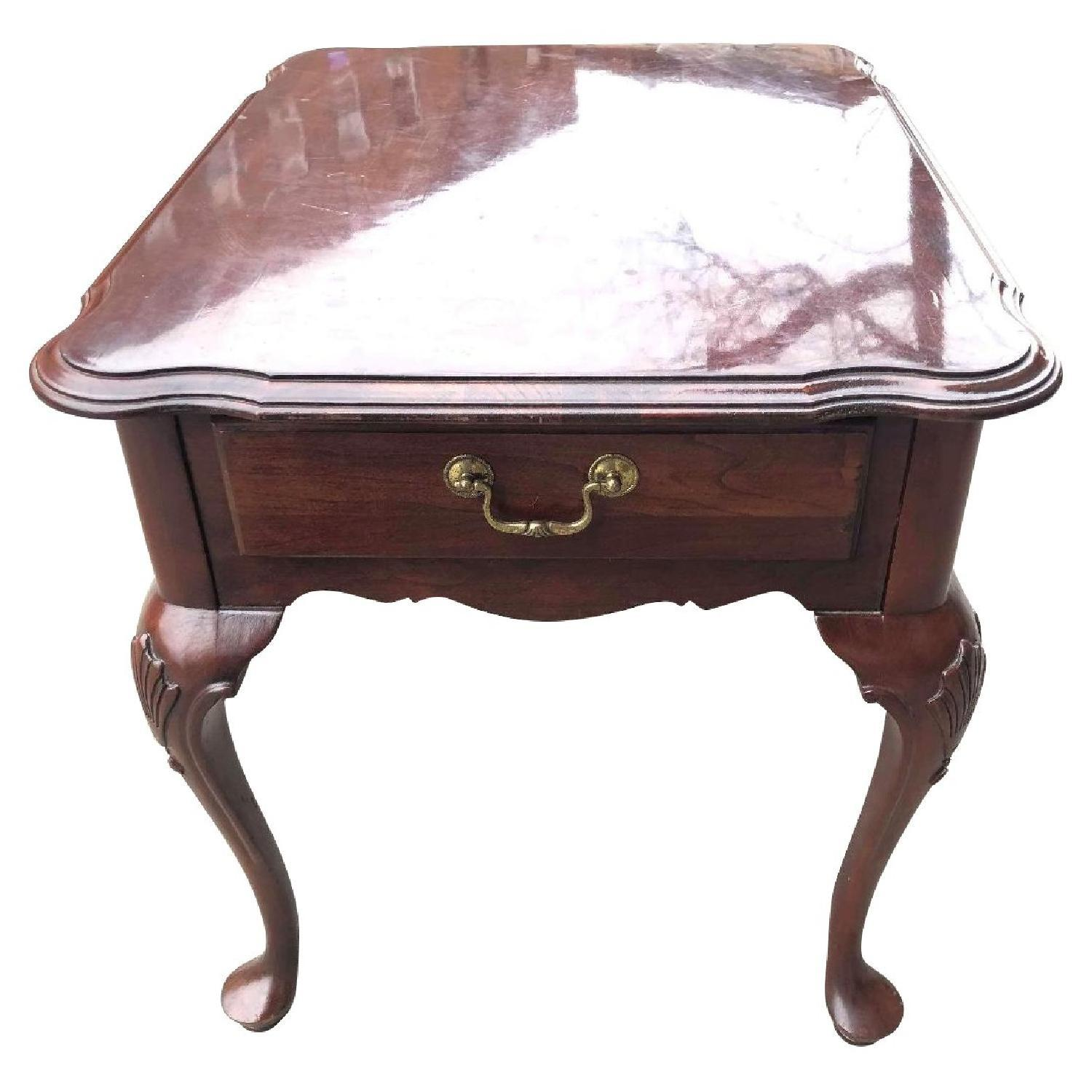 Ethan Allen Side Table w/ Drawer