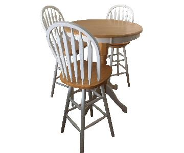 Pub Table w/ 4 Chairs