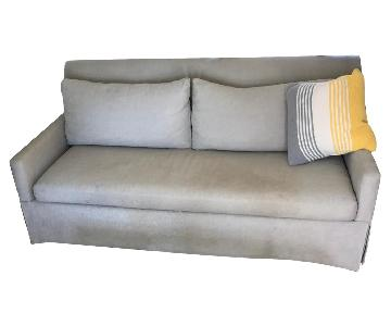 West Elm Slipcovered Sofa