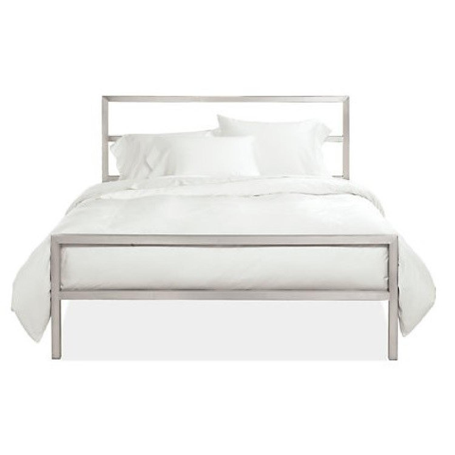 Room & Board Portica Stainless Steel Bed