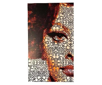 Sophia Loren Tribute Canvas Print