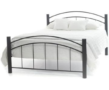 Amisco Rocky Bed Frame w/ Head/Foot Board