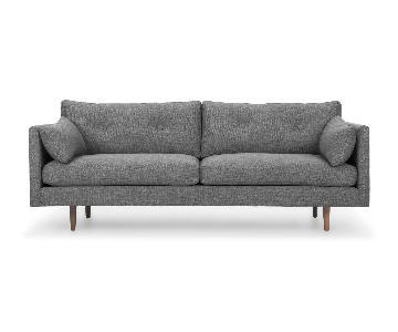 Article Anton Gravel Gray Sofa