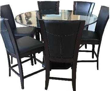 Raymour & Flanigan Venice 7 Piece Dining Set