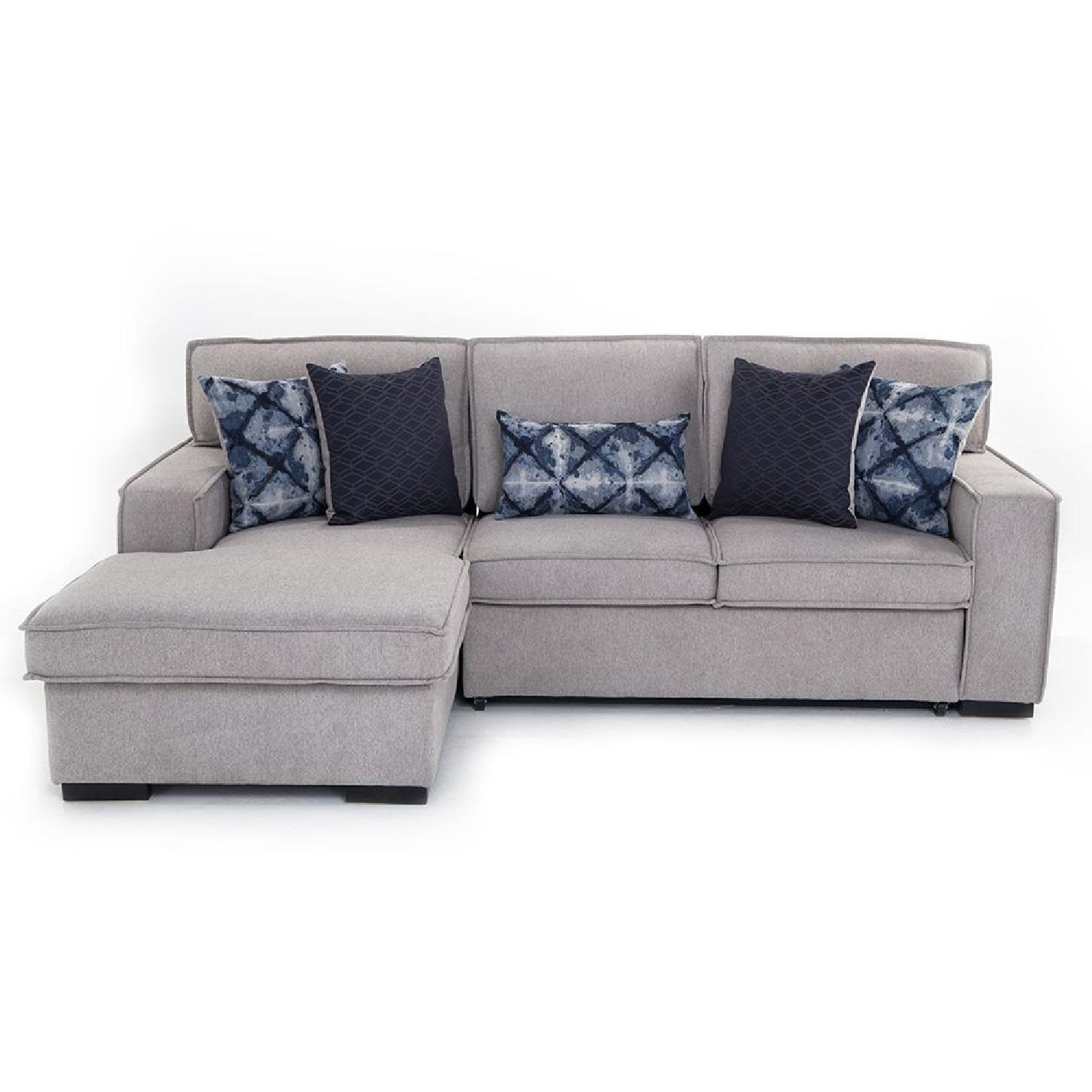 Bob's Playscape Left Arm Facing Sectional Sofa