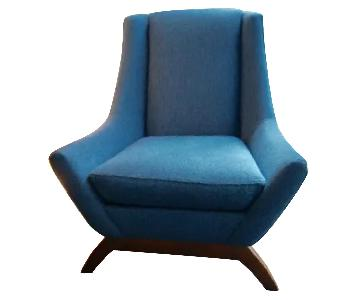 DwellStudio Jensen Mid Century Armchair in Knoll Fabric