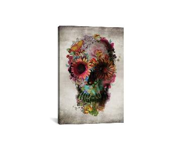 Ali Gulec Skull Canvas Painting