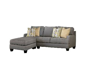 Jennifer Convertibles Chelsea 2-Piece Sectional Sofa