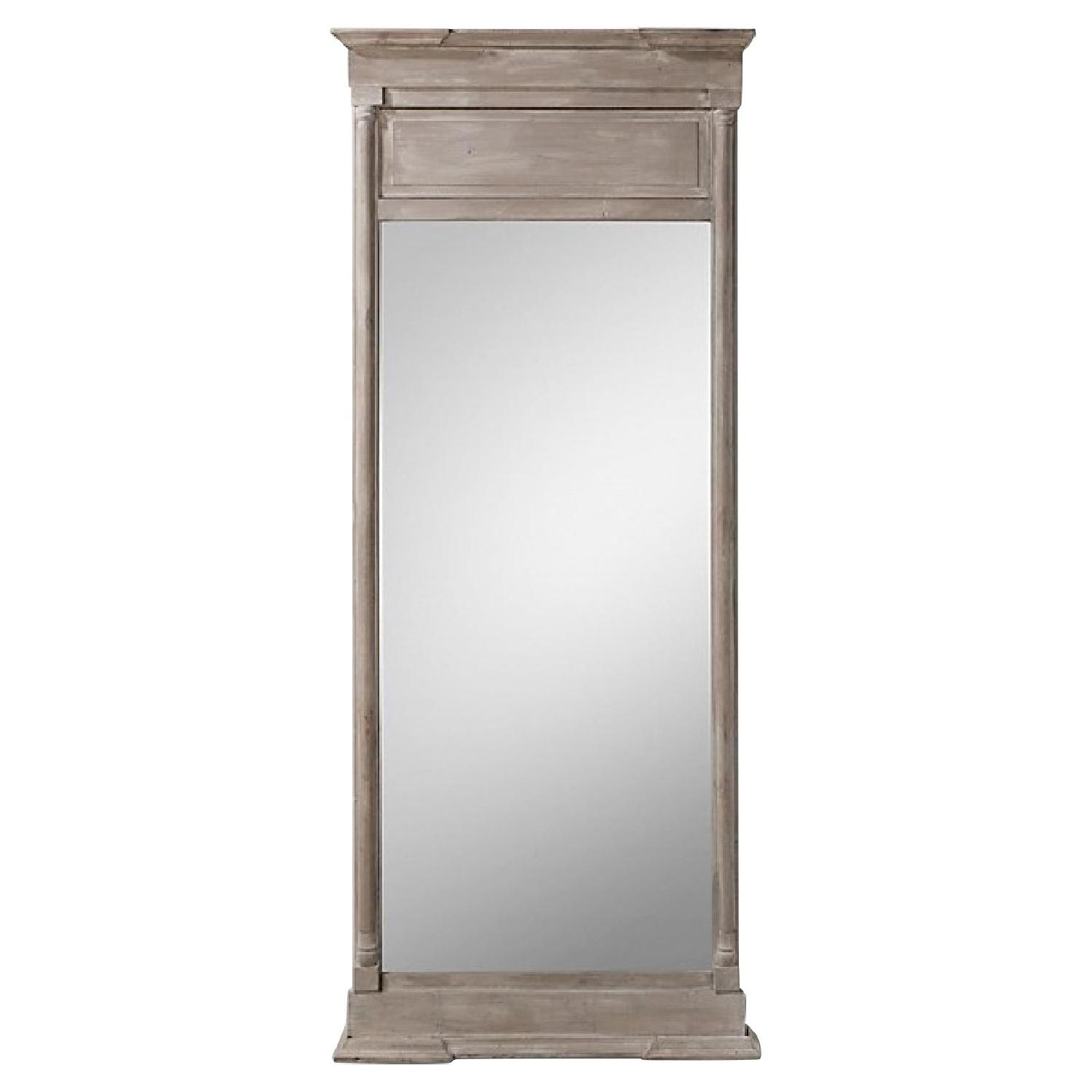 Restoration Hardware Full Length Wall Mirror