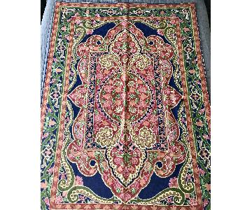 Kashmiri Persian Wool Rug/Wall Hanging Art