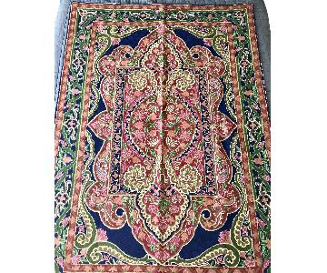 Kashmiri Persian Wool Rug/Wall Hanging Art