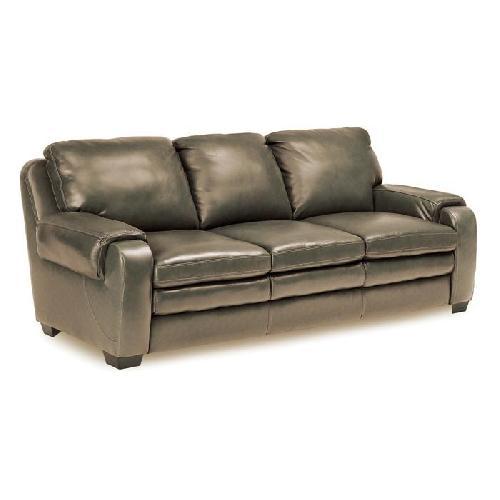 Used Jennifer Convertibles Matera Leather Match Sofa for sale on AptDeco