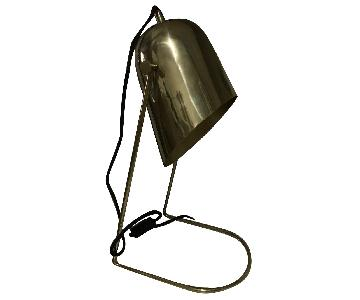 West Elm Visor Task Lamp in Polished Brass