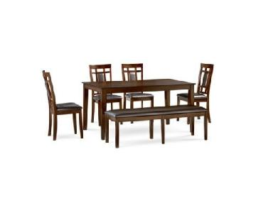 Macy's Delran 6 Piece Dining Set