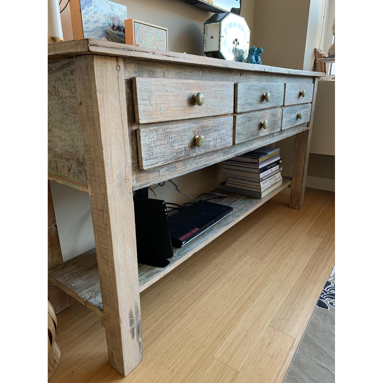 Arhaus 6-Drawer Wood Sideboard-1