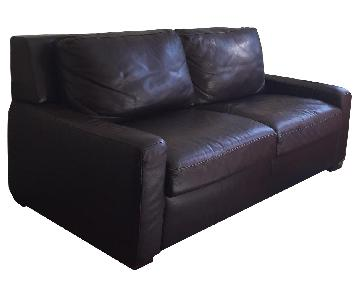 American Leather Brown Sleeper Sofa