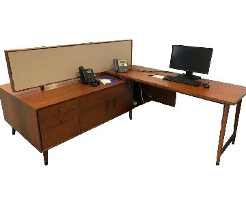 West Elm Mid-Century Benching Desk