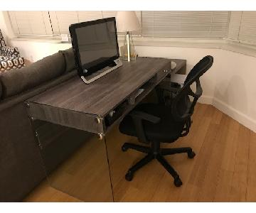 Modern Gray Desk