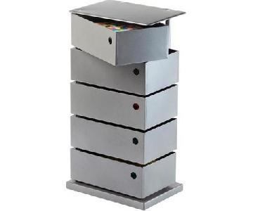 Container Store Dottus 5-Bin Storage Tower