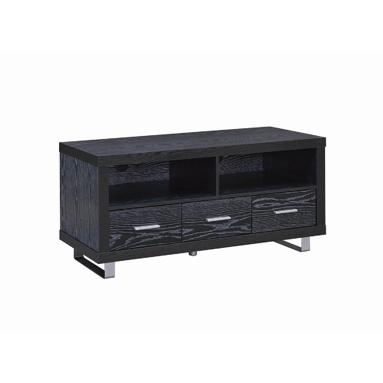 Coaster Black Oak TV Console