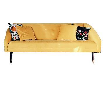 Peri Gold Finnick Sofa