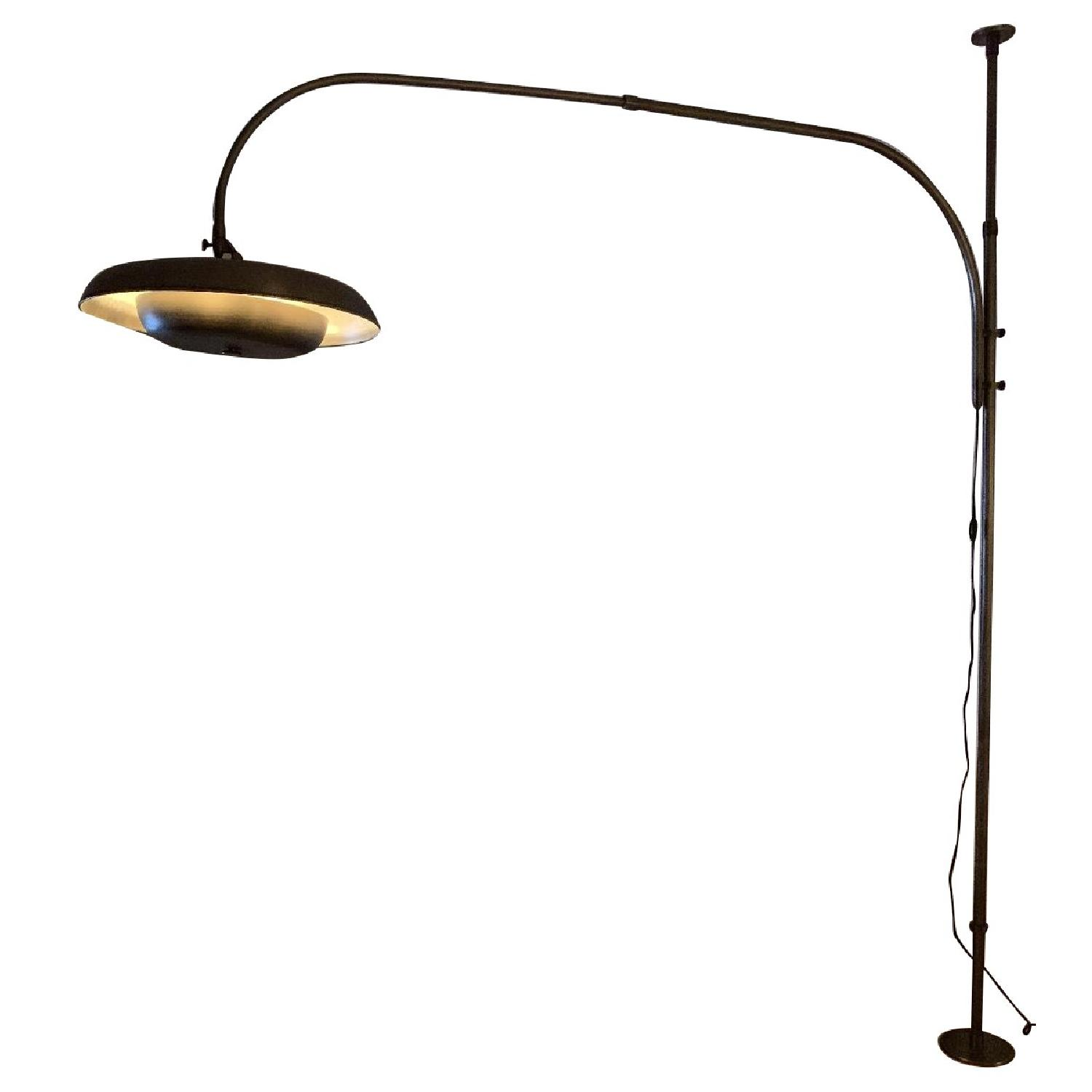 Restoration Hardware 1970s Italian Tension Pole Lamp
