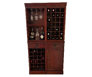 Pottery Barn 2-Piece Modular Bar Tower