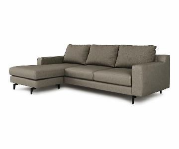 Mitchell Gold + Bob Williams Hunter 2-Piece Sectional Sofa