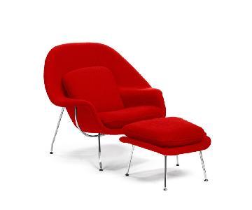 Manhattan Home Design Womb Chair & Ottoman Replica