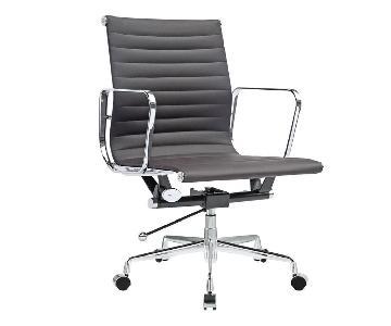 Manhattan Home Design Eames Ribbed Management Chair Replica