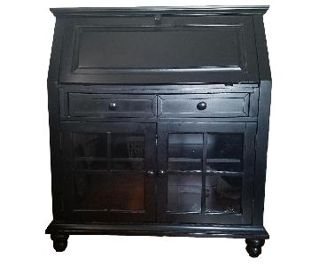 Hillsdale Furniture Black Secretary Desk