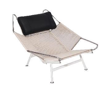 Manhattan Home Design Flag Halyard Lounge Chair