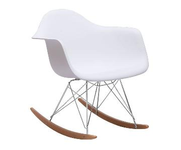 Manhattan Home Design Mid Century Modern Rocking Chair